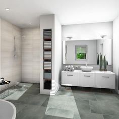 rebath bathroom remodeling is utterly important for your home. Whether you choose the serene bathroom or mater bathroom, you will create the best remodel a bathroom for your own life. Serene Bathroom, Simple Bathroom, Bathroom Layout, Modern Bathroom, Minimal Bathroom, Bathroom Interior, Beautiful Bathrooms, Marble Bathrooms, Dream Bathrooms
