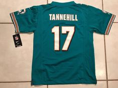 NWT NIKE Miami Dolphins Ryan Tannehill NFL Jersey Youth Large  | eBay