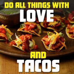 Love + Tacos.