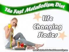 Let's hear their stories out and how their life has changed because of the results The Fast Metabolism Diet program brought to us by Dr. Haylie Pomroy. Description from thefastmetabolismdietcommunity.com. I searched for this on bing.com/images