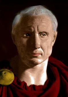Reconstruction of Proconsul Gaius Julius Caesar, brother-in-law of Gaius Marius and father of Julius Caesar. (130 BC - 85 BC)