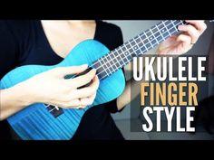 How To Play Fingerstyle on Ukulele ~ EASY Fingerpicking Tutorial Lesson 2 Acoustic Guitar Chords, Ukulele Chords Songs, Ukulele Tabs, Guitar Songs, Banjo Ukulele, Ukulele Fingerpicking, Music Lessons For Kids, Kalimba, Teaching Music