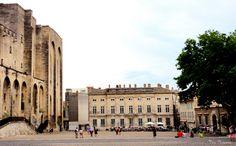 Palais de Papes, Palácio dos Papas, Avignon, Foto de Véva Nogueira