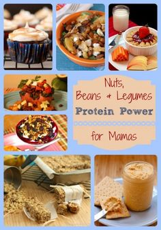 Nuts Beans Legumes Protein Power Recipe Roundup (over 20 recipes!) | cupcakesandkalechips.com