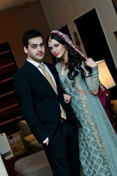 Pakistani bridal, bride and groom