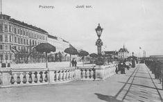 Stará Bratislava Bratislava, Old Street, Squares, Paris Skyline, Louvre, Building, Travel, Historia, Viajes
