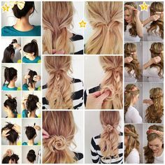 Hairstyles that can be created in three minutes http://veu.sk/index.php/aktuality/526-ucesy-ktore-sa-daju-vytvorit-do-3-minut.html #hairstyles #can #be #created #three #minutes
