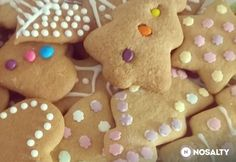 Gingerbread Cookies, Christmas Cookies, Xmas Food, Tapas, Cookie Recipes, Baking, Minden, Menu, Gingerbread Cupcakes