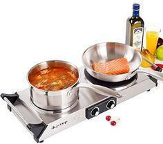 DUXTOP 1800W Portable Electric Cast Iron Cooktop Countertop Burner (Double) Duxtop http://www.amazon.com/dp/B00M7EXNCY/ref=cm_sw_r_pi_dp_WDslwb1F3WW9N