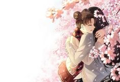 kawaii, anime couple, and tenten image