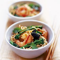 Prawn noodle stir-fry recipe - Woman And Home