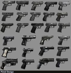 Pistol iterative design