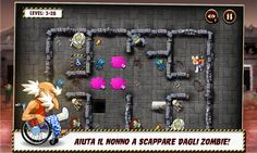Nonno: Il nuovo puzzle game a livelli GRATIS su Windows Phone 8 http://www.sapereweb.it/nonno-il-nuovo-puzzle-game-a-livelli-gratis-su-windows-phone-8/        Nonno è un nuovo puzzle game a livelli arrivato su Windows Phone 8 dove bisogna aiutare nonno Bylli seduto su una sedia a rotelle senza freni a sopravvivere ad una invasione zombie.  Di seguito la descrizione del gioco che possiamo leggere nello Store: Il cervello di Nonno Billy...