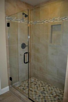 Custom Mud Set Tile Shower By Copper Creek Homes