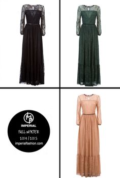 Long Lace Dress | outfit #50... Soon Online at the Official IMPERIAL Digital Store!