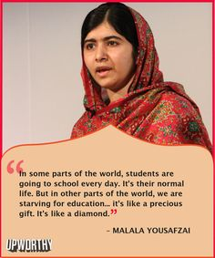 3 great quotes from Nobel Prize Winner Malala Yousafzai. They confirm she deserves all the awards #leadership