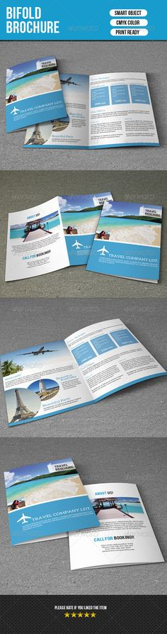 Travel Trifold Brochure  Brochures Travel Brochure Template And