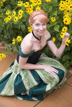 Princess Anna #Cosplay