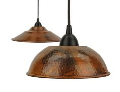 3 copper pendants over the kitchen island, copper sink and maybe copper backsplash behind stove?