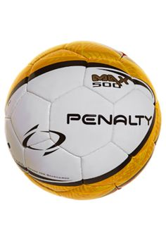 0c6a7814f5 Bola Oficial Futsal Max 500 Branca  Vermelha  Amarelo