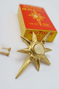 NIB Vintage Nutone Starburst Doorbell Eames by AtomicMartini