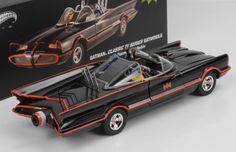 Batmobile 1966 mit Figuren with figures Robin Batman 1:18 Hot Wheels Elite | eBay