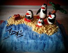 Tort Pingwiny z Madagaskaru