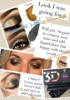 Splurge cream eye shadow in skeptical and tenacious with the amazing 3D fibre lash mascara