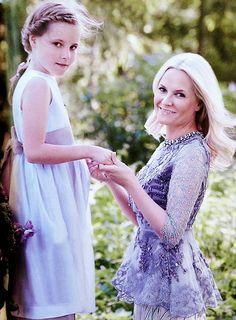 alexanderlouis:  Princess Ingrid Alexandra and Crown Princess Mette-Marit
