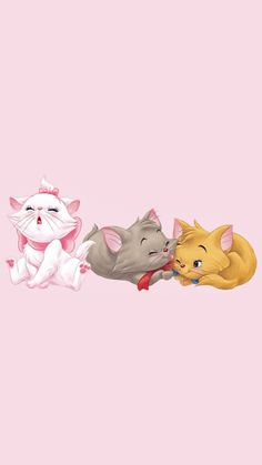 Disney Phone Backgrounds, Disney Phone Wallpaper, Wallpaper Iphone Cute, Disney Time, Disney Movies, Marie Cat, Gata Marie, Disney Cartoon Characters, Disney Princess Pictures