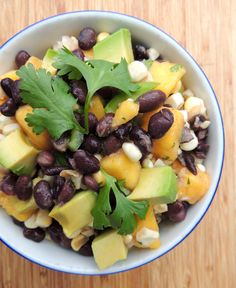 Black Bean, Mango and Corn Salad