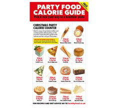 Our party food portion guide will help keep track of the calories in party food favourites, so you can pick and mix your way to a healthier plate Healthy Plate, Healthy Eating, Healthy Food, Food Portions, Festive Cocktails, Calorie Counter, Salmon Salad, Pick And Mix, Health Advice