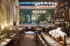 Tutto Il Giorno - Branch of a Hamptons-based Italian restaurant, with a chic design & contemporary dishes from Naples. 114 Franklin St. 10013 http://tribecacitizen.com/2014/06/05/first-impressions-tutto-il-giorno/