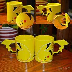 Pikachu Ceramic Coffee Mug (cod: ev-c) World of Ash    #WorldOfAsh #PokemonGO #Pokemon