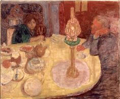 dining room on the garden - pierre bonnard | pierre bonnard