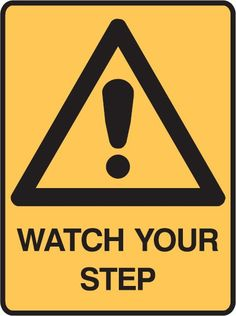 Warning Signs - Watch Your Step - Warning Signs - Safety Signs - Signs & Labels | Seton Australia