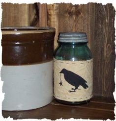 crow jar and crock!