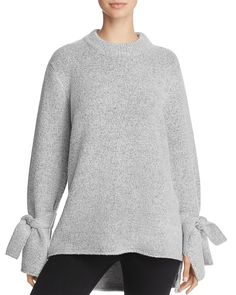 JOA Tie Sleeve Sweater Women - Bloomingdale s d1382ad9a0acb