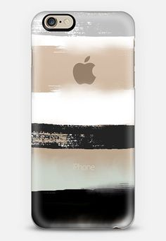Large Watercolor Stripes 3 iPhone 6 case by Jande La'ulu Cool Iphone Cases, Slim Iphone Case, Cute Phone Cases, Iphone 7 Plus Cases, Iphone Case Covers, Portable Apple, Cute Cases, Coque Iphone, Iphone Accessories