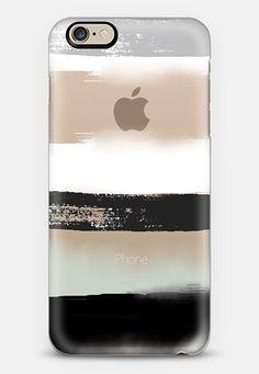 Large Watercolor Stripes 3 iPhone 6 case by Jande La'ulu   Casetify