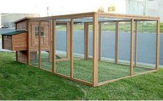Building A DIY Chicken Coop If you've never had a flock of chickens and are considering it, then you might actually enjoy the process. It can be a lot of fun to raise chickens but good planning ahead of building your chicken coop w Chicken Coop Run, Chicken Pen, Portable Chicken Coop, Chicken Cages, Backyard Chicken Coops, Building A Chicken Coop, Chickens Backyard, Chicken Soup, Chicken Recipes