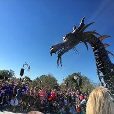 Dragon looks extra friendly today! @WDWToday #waltdisneyworld #MagicKingdom #festivaloffantasy