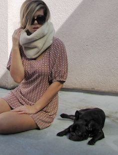 DIY faux fur neck warmer. Basically it's a scarf. So basically, I want to make it.