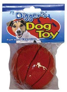 BASKETBALL DOG TOY by DIGGERS MfrPartNo 52532 -- Click on the image for additional details. (This is an Amazon affiliate link)