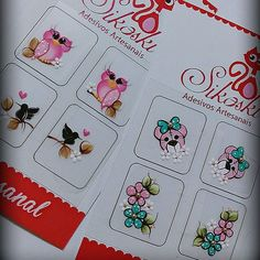 #muitoamorenvolvido Beautiful Nail Designs, Pedicure, Easy Crafts, Nail Art, Nails, Fun, Nova, Nail Jewels, Art Nails