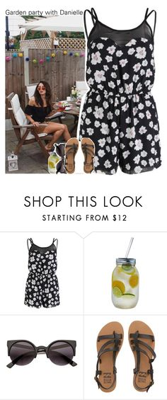 """""""Garden party with Danielle"""" by xcuteniallx ❤ liked on Polyvore featuring AX Paris and Billabong"""