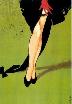 1953 Rene Gruau Typography - Christian Dior