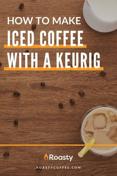 If you're trying to avoid paying money for an iced coffee when you already have a Keurig at home, you've come to the right place! It's 100% possible and surprisingly easy to do! Use our how-to guide to find out tips and tricks we've put together so you can get the most out of your home-brewed iced coffee. #coffeelovers #icedcoffee #roastycoffee #keurigcoffee Thai Iced Coffee, Vietnamese Iced Coffee, Making Cold Brew Coffee, How To Make Ice Coffee, Coffee Course, Coffee Brownies, Nitro Coffee, Coffee Creamer, Coffee Humor
