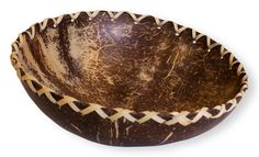 Polished Coconut Shell Bowl