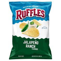 Ruffles Plain Potato Chips 8.5 oz